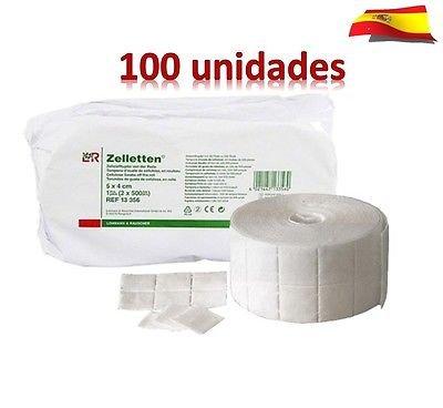Toallitas de Celulosa - 100 UNIDADES=12 CAPAS - Producto de estética - Blucc Style