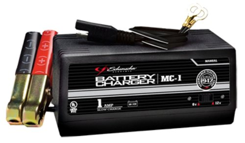 Schumacher MC-1 6/12 Volt Manual Trickle Battery Charger