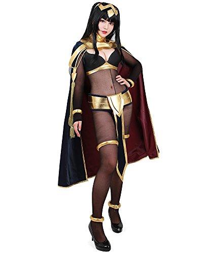 Miccostumes Women's Fire Emblem Awakening Tharja Cosplay Costume (Women l)