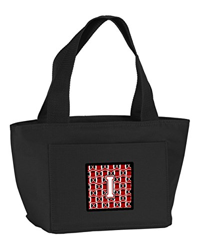 carolines-treasures-cj1082-ibk-8808-letter-i-football-cardinal-and-white-insulated-lunch-bag-large-m
