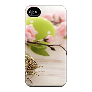 YdJeycr6977jCctw Case Skin Protector For Iphone 4/4s Easter Egg Nest With Nice Appearance