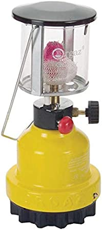 Orcamp lámpara Linterna de Camping de Gas con Retina Interna ...