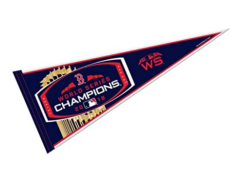rico industries Boston Red Sox 2018 World Series Champions Pennant