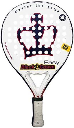 Black Crown Easy - Pala, Color Blanco/Morado/Amarillo/Rosa, 38 mm ...