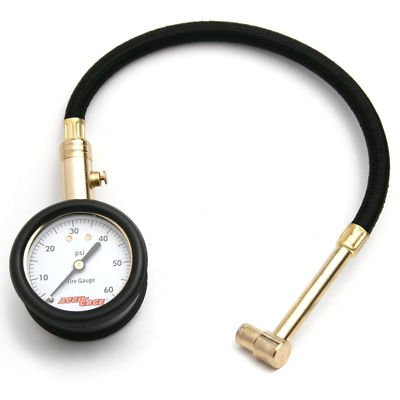 Accugage Dial Tire Gauge with Hose RRA60X