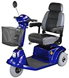Mid-Range Three Wheel Scooter, Blue