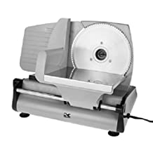 Kalorik Electric Adjustable Professional Style Deli Meat Slicer