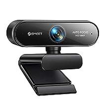 ウェブカメラ eMeet NOVA WEBカメラ 自動フォーカス HD1080P 20...