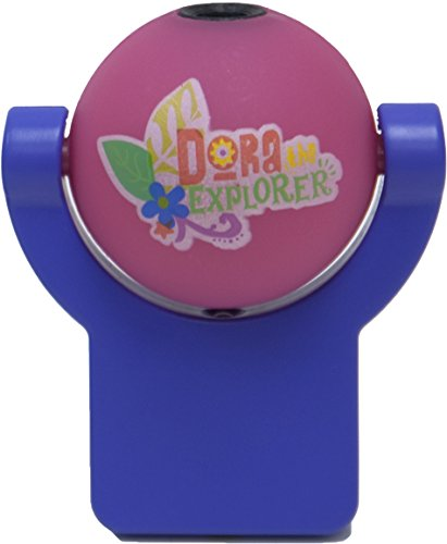 Nickelodeon Projectables Dora the Explorer LED Plug-In Night Light, 11700, Image Projects Onto Wall or Ceiling