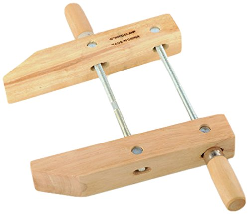 ATE Pro. USA 30143 Wood Handscrew Clamp, 10'' by ATE Pro. USA