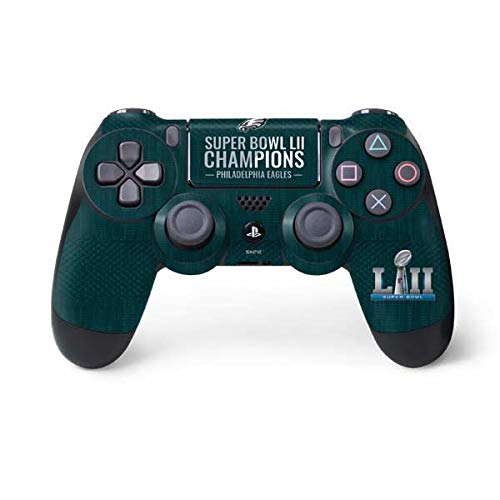 Skinit Philadelphia Eagles Super Bowl LII Champions PS4 Controller Skin - Officially Licensed NFL PS4 Decal - Ultra Thin, Lightweight Vinyl Decal Protective Wrap