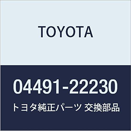 Disc Brake Pad Kit 04491-22230 Genuine Toyota Parts