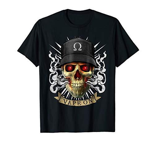 Vape T-Shirt Vaping Skull | E-Cigarette Cloud Chaser
