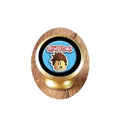 Pop Game Necklace Boy Figure Face Glass Photo Cabochon Toy Pendant Magnetic Car Phone Mount Holder