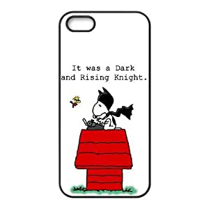 iPhone 5 5s Cell Phone Case Black Snoopy gscw