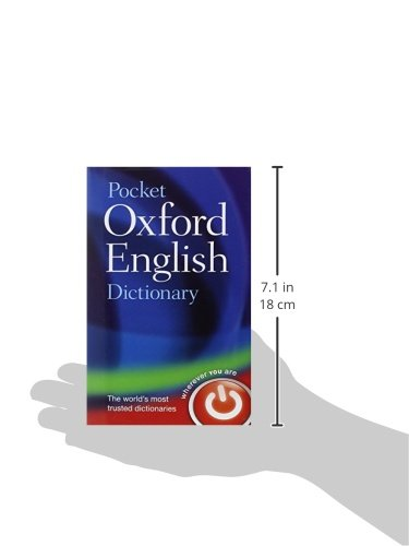 Pocket Oxford English Dictionary Buy Online In Uae Hardcover Products In The Uae See
