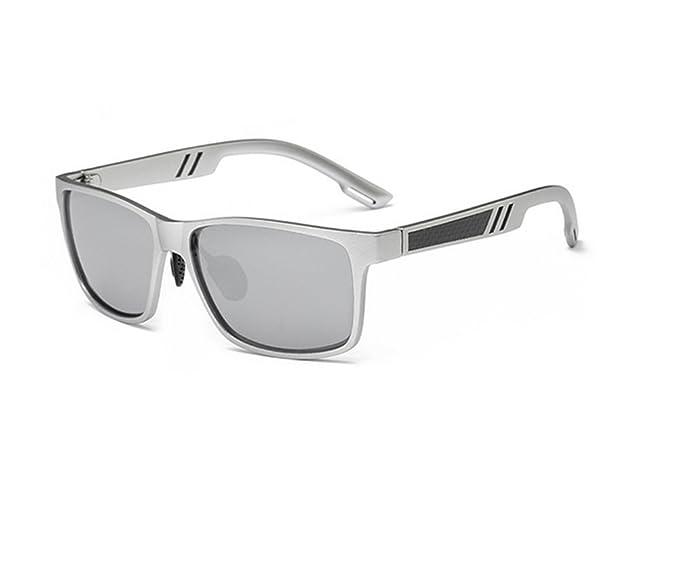 580bfdc4c8 vidrios para hombre Hombres gafas de sol polarizaron, Lentes colores Gafas  de moda-D: Amazon.es: Ropa y accesorios