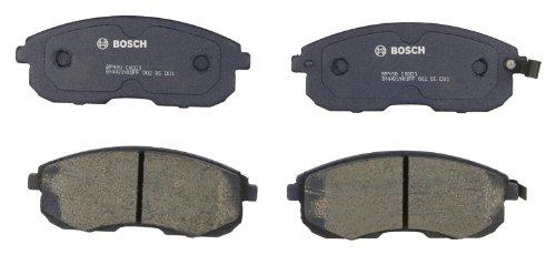 Bosch BP430 QuietCast Premium Semi-Metallic Disc Brake Pad Set For Infiniti: 2000-2001 G20; Nissan: 1993-2001 Altima, 1999-2001 Altra EV, 1989-1990 Maxima, 2000-2006 Sentra; Front ()