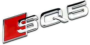 "For AUDI /""RS7/"" BLACK ABS BOOT BADGE o EMBLEM LOGO REAR TRUNK FOR AUDI A7 S7 RS7"
