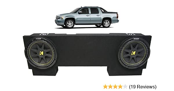 Amazon.com: ASC Package Chevy Avalanche 02-13 Dual 12