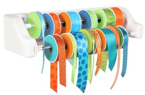 IRIS Hobby Hanger Ribbon Organizer, White