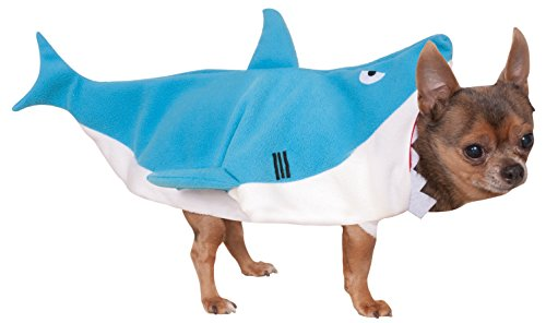 Rubie's Shark Pet Costume, Medium - Pet Cat Shark Costumes
