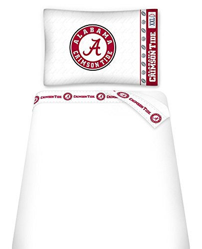University of Alabama Microfiber Sheet Set (Twin)