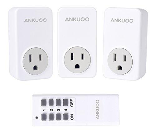 (Ankuoo SD5001 Wireless Outlet, White)