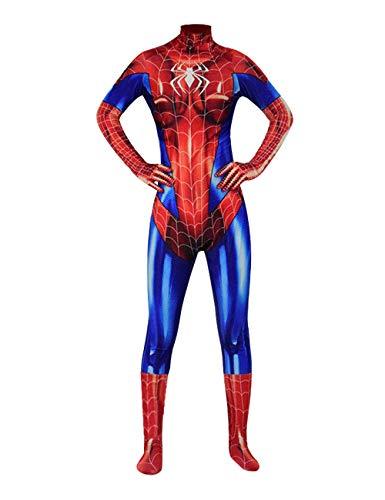Premium 3D Printing Bodysuit MJ Spiderman Costume Jamie Girl Spider-Man Cosplay Zentai Suit (Adult-S, -