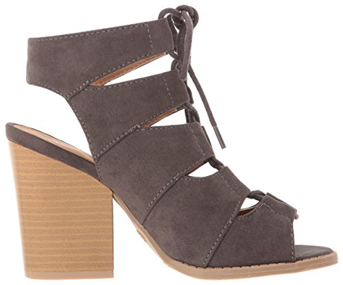 Charcoal 01a Ankle Qupid Women's Bootie Barnes Hnxx6YZ