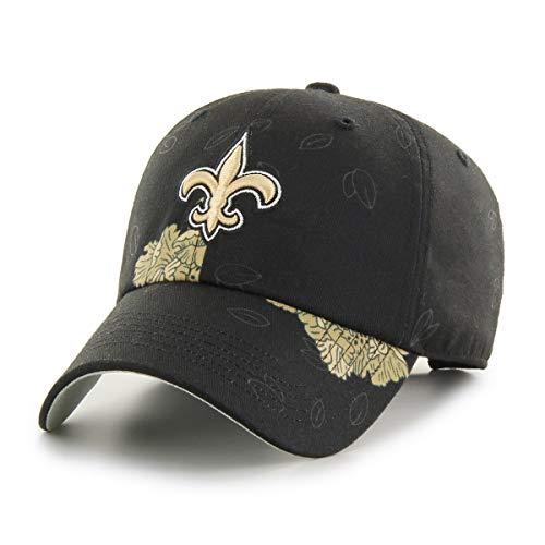 OTS NFL New Orleans Saints Women's Elsie Challenger Adjustable Hat, Team Color, Women's