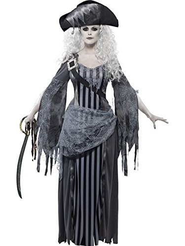 Smiffys Ghost Ship Princess Costume -
