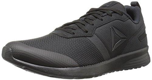 Reebok Women's Foster Flyer Track Shoe,black/coal,9.5 M US