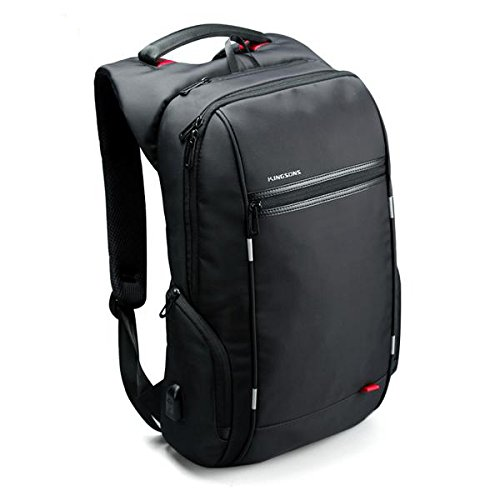 Laptop Backpack External Usb Charge Antitheft Backpack For Men Male Waterproof Bag (15