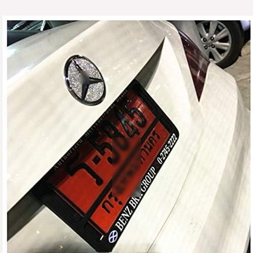 D28JD Logo-Emblem f/ür die Motorhaube Heckklappe Heckklappen Trunk Aufkleber Kristalldiamanten f/ür Me-rcedes C-Klasse