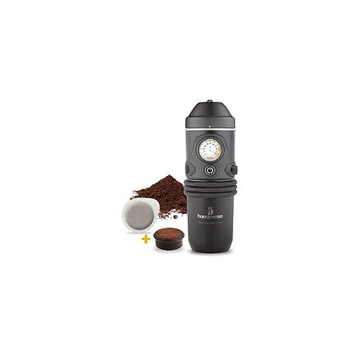 Handpresso Auto 48261 Cafetera espresso portátil para monodosis ...