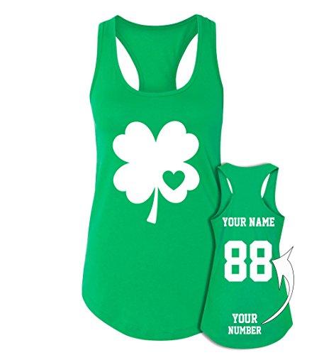 Custom Jerseys St Patrick's Day Tank Tops - Saint Pattys Irish Outfits