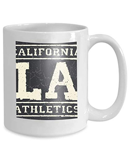 mug coffee tea cup graphics los angeles california graphic sport emblem design graphic print label 110z