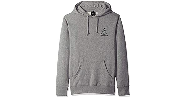 HUF Triple Triangle Sudadera con Capucha Grey Heather: Amazon.es: Deportes y aire libre