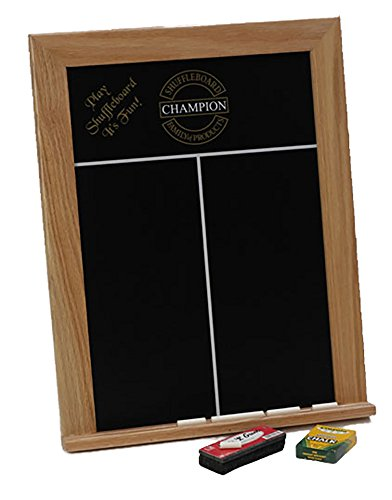 Framed Chalk Scoreboard - Light Stain by Sun-Glo