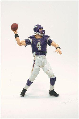 Minnesota Vikings Brett Favre NFLPM NFL McFarlane Toys Playmakers Series 1 Action Figure Brett Favre