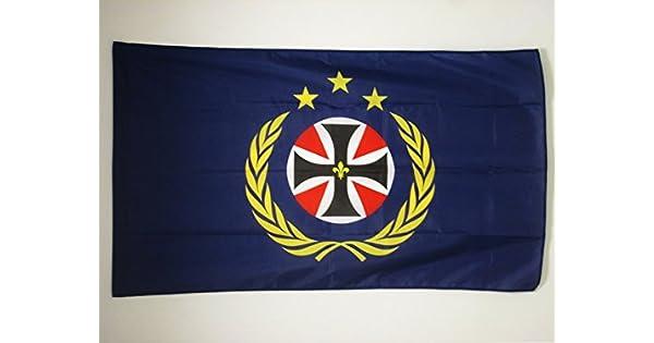 Amazon.com: Santa Empire bandera europeo de 3 x 5 para una ...