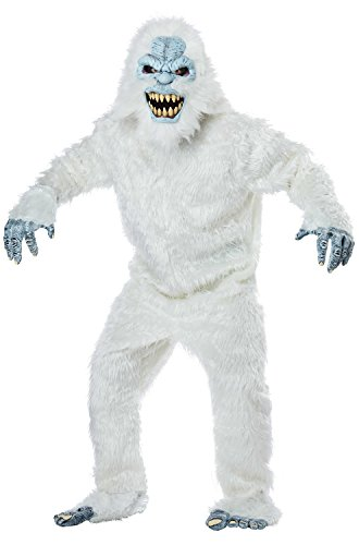 California Costumes Men's Snow Beast-Adult Costume, White/Blue One Size ()