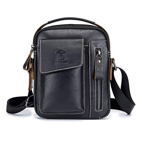 Vaca Diseño Moda Wafalano Messenger Hombres Regalo Bolsa De Estilo Crossbody Bag Negocios Bag Bolso Vintage Mejor Casual Cuero El rYqzgwPY