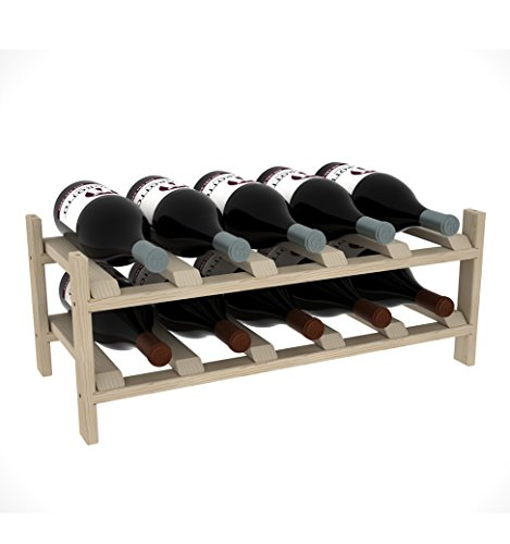 Creekside 10 Bottle Magnum Modular Exclusive Wine Shelf, 12