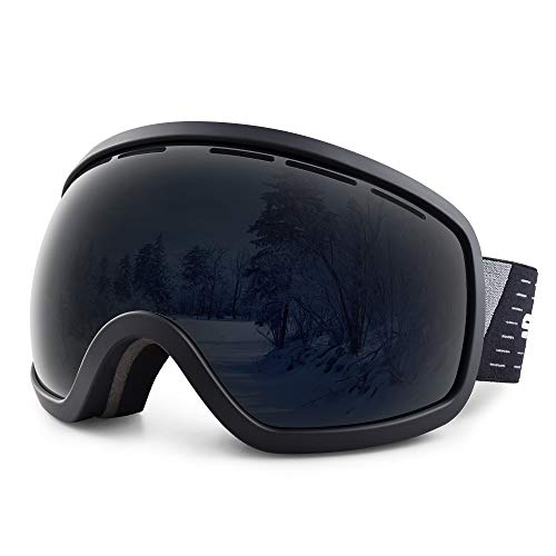 HUBO SPORTS Ski Snowboard Goggles for Men Women Adult,OTG Snow Goggles of Dual Lens with Anti Fog UV Protection for Youth Teenage ... (Best Anti Fog Snow Goggles)