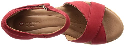 Clarks Plaza Cross - 26132327 Red