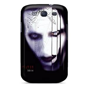 [LpR2273ZFpV]premium Phone Cases For Galaxy S3/ Marilyn Manson Cases Covers