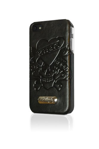 Executive Ed Hardy Faceplate in for iPhone 4 - Love Kills...