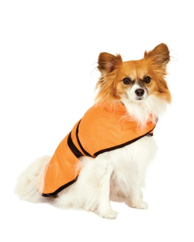 Fashion Pet Blanket Coat for Dogs, Essential Orange, Small, My Pet Supplies